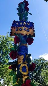 Biberacher Schuetzenfest 2020 Gigelberg Stelen 2