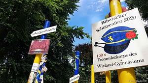 Biberacher Schuetzenfest 2020 Gigelberg Stelen 49